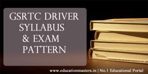 gsrtc-driver-syllabus