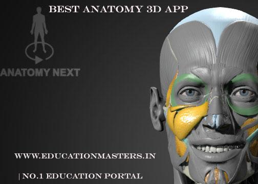 best anatomy 3D app