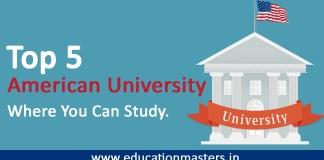 Top 5 American University