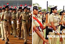 Police recruitment 2020