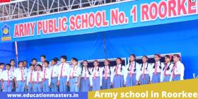 Army school in Roorkee