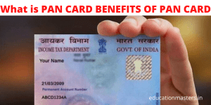 what is pan card