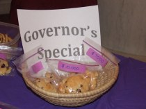 cookies in basket