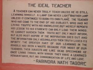 आदर्श शिक्षक, शिक्षक प्रशिक्षण, भारत में शिक्षक प्रशिक्षण