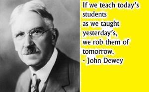 शिक्षा दार्शनिक, जॉन डिवी के विचार