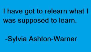 सिल्विया एश्टन-वॉरनर, अध्यापक, शिक्षा में नवाचार, न्यूजीलैंड, शिक्षाविद्