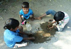 children-of-village-playing-in-community