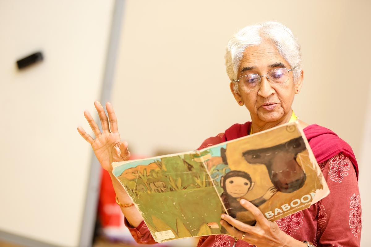 उषा मुकुन्दा: 'जीवंत पुस्तकालय के लिए बच्चों व शिक्षकों की सक्रिय भागीदारी है जरूरी'
