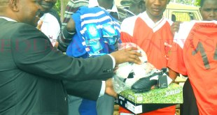 22 Rongo primary schools get sports items