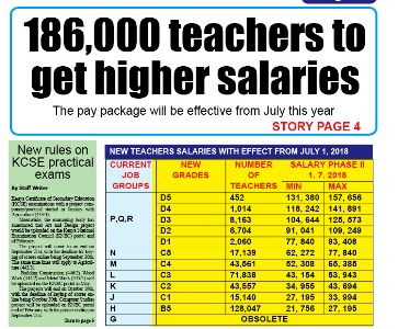 Teachers to get higher pay - Education News