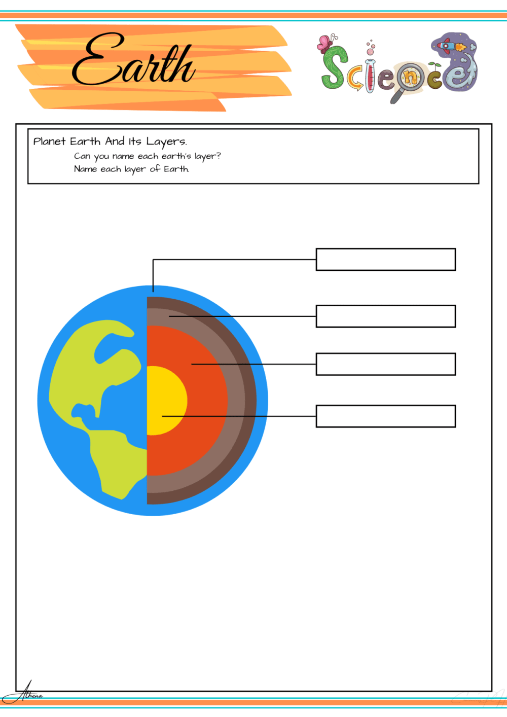 medium resolution of Earth Science Worksheets   Printable Worksheets and Activities for  Teachers