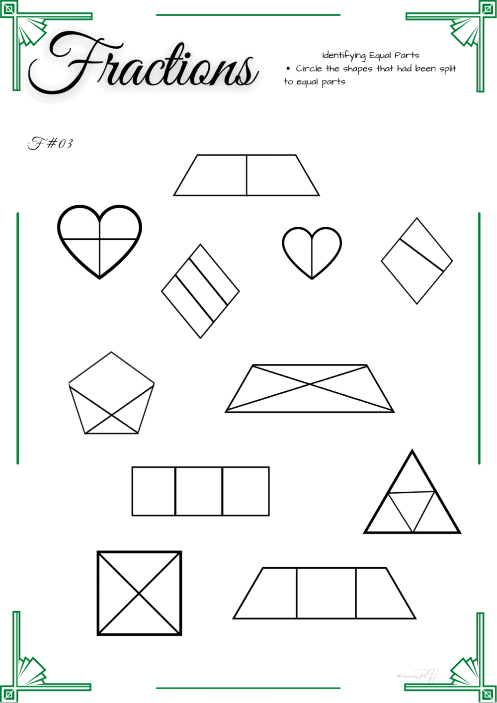 medium resolution of Equal Or Unequal Worksheet Grade 1   Printable Worksheets and Activities  for Teachers