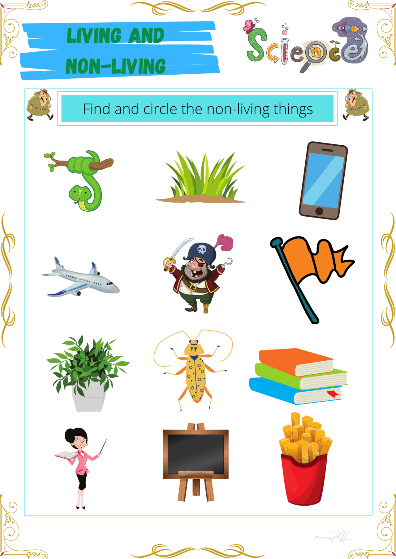 Grade 1 Science Activity Sheets