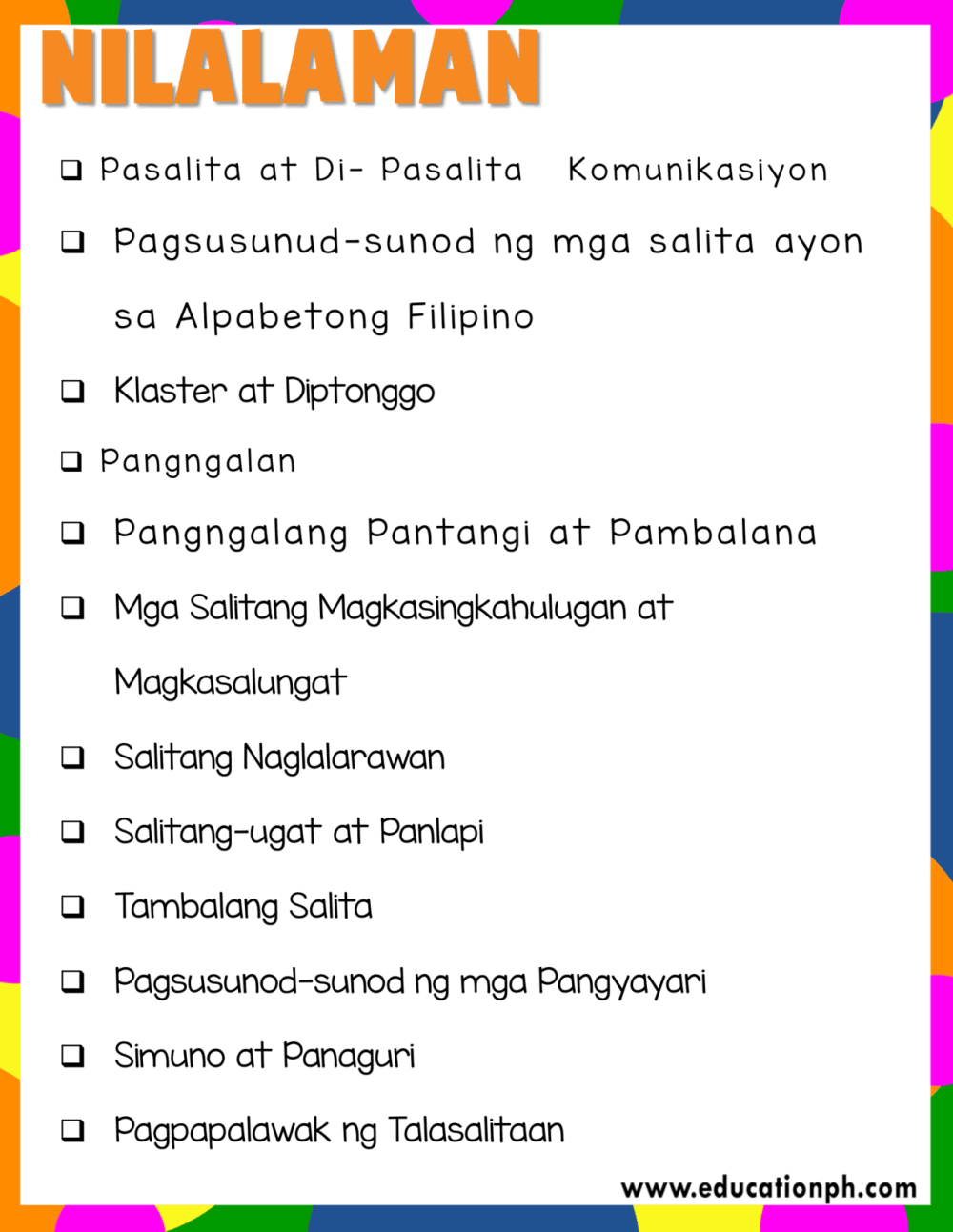 medium resolution of Grade 2 Filipino Workbook - Education PH