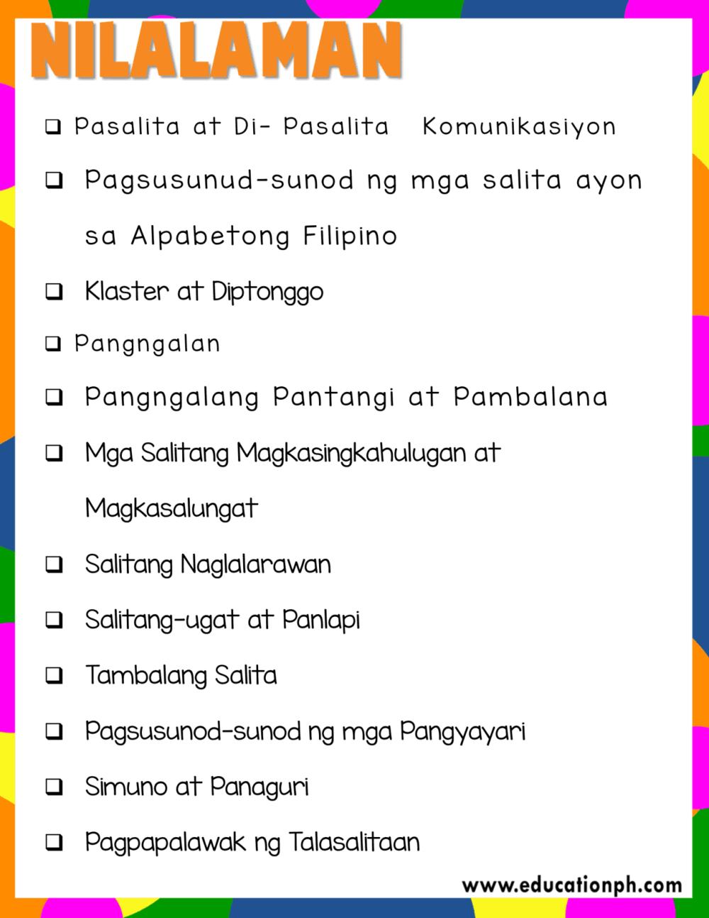 medium resolution of Grade 2 Filipino Workbook - Education PH