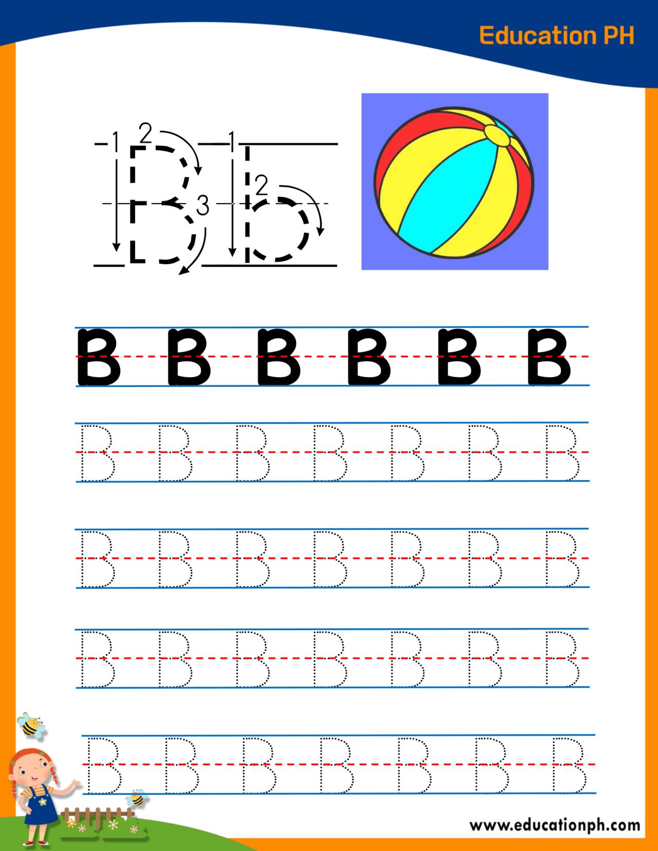 Preschool Worksheets Tracing Alphabet