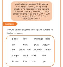 Worksheet In Filipino Grade 3 Pangngalan   Printable Worksheets and  Activities for Teachers [ 1656 x 1280 Pixel ]