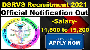 DSRVS अपरेंटिस भर्ती 2021: डिजिटल शिक्षा और Rojgar Vikas Sansthan India (DSRVS) ने 433 DEO, कंप्यूटर तकनीशियन, कार्यालय सहायक, वेब डिजाइनर और अन्य पदों के लिए आवेदन आमंत्रित किए हैं। इच्छुक उम्मीदवार 20 फरवरी 2021 को या उससे पहले निर्धारित प्रारूप<div class=