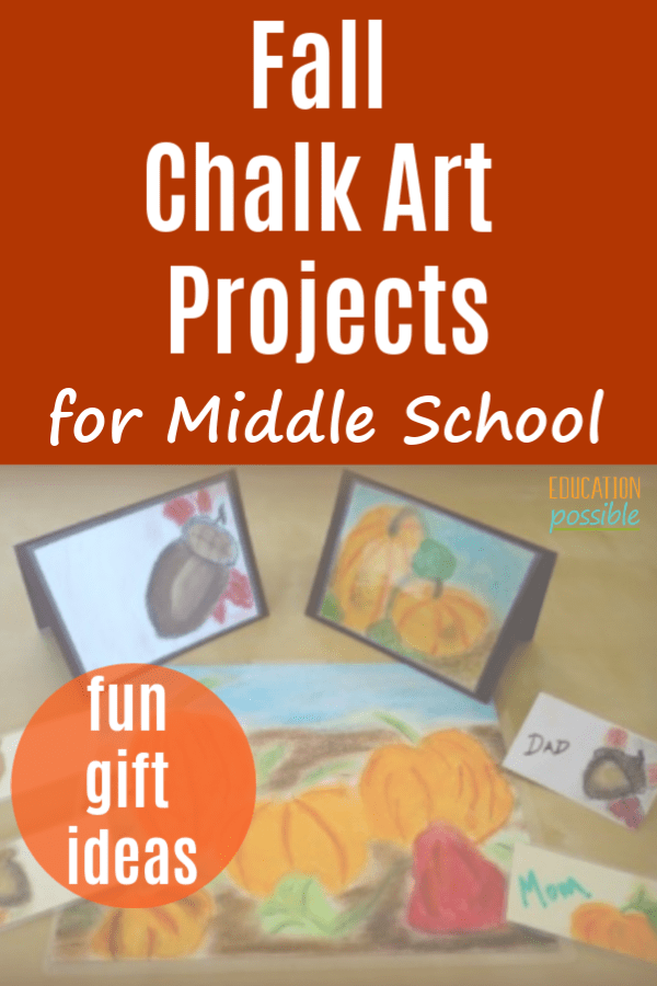 Easy And Practical Fall Chalk Art Projects For Middle School