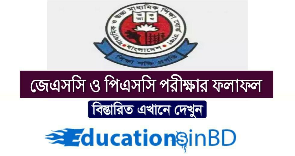 পিএসসি ও ইবতেদায়ী পরিক্ষার ফলাফল পুনঃনিরীক্ষণ আবেদন jsc psc result education board Bangladesh