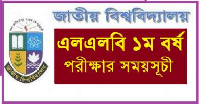 National University LLB 1st year Routine National University LLB 1st year Routine 2018 www.nu.ac.bd download Now
