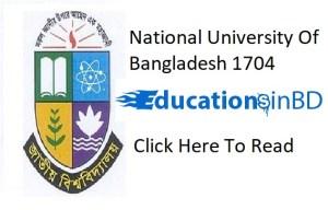 National University Exam Form Fill Up Notice 2020 3