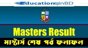 NU Masters Final Year Result 2018 Update Session 2014-15 www.nu.ac.bd