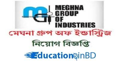 Meghna Group Industries Job Circular 2018 - www.meghnagroup.biz