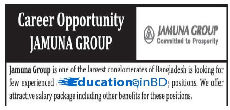 Jamuna Group Job Circular & Apply Instruction -2018