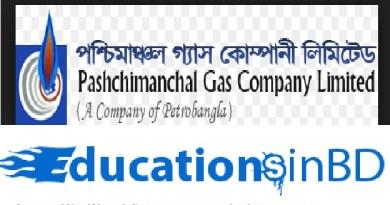 Pashchimanchal Gas Company Limited (PGCL) Job Circular 2018