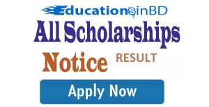All Bank Scholarship 2018 Circular & Result
