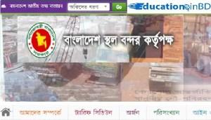 Bangladesh Land Port Authority BLPA Result Admit Exam Date 2019