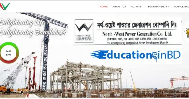 North-West Power Generation Company Ltd NWPGCL Exam Date Admit Result 2018