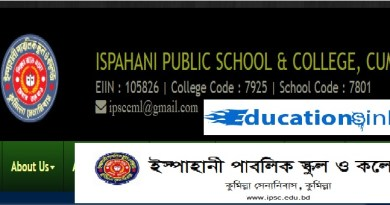 Ispahani Public School and College Admission Circular Result 2019
