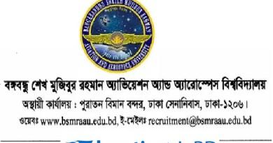 BSMRAAU Admission Test Circular Result