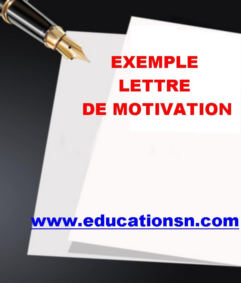Lettre De Motivation Conseils Et Exemple D Une Lettre
