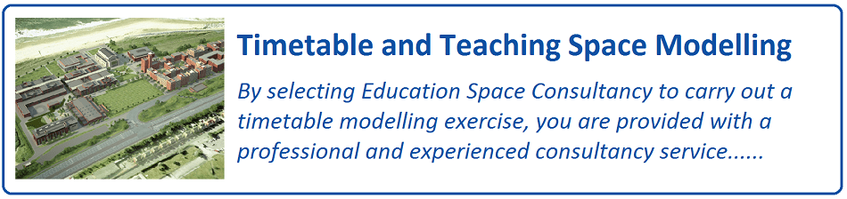 Timetable and Teaching Space Modelling