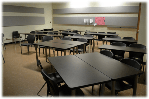 Empty Teaching Space