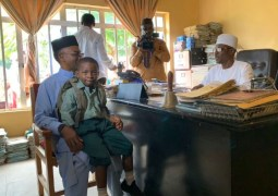 El-Rufai keeps promise, enrolls own son into public school