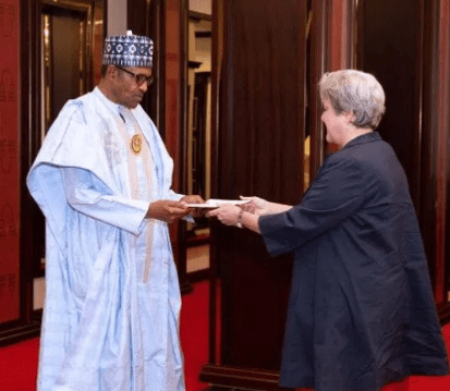 My conscience is clear on human rights abuses, Buhari tells US