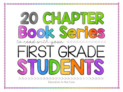 small resolution of 29 Recommended Chapter Books to Read with Your First Grade Students