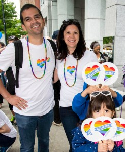August Activist of the Month Vanessa Hernandez and family