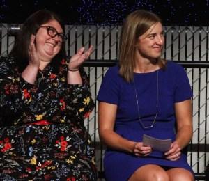 2017 Teachers of the Year Elizabeth Loftus and Camille Jones - League of Education Voters