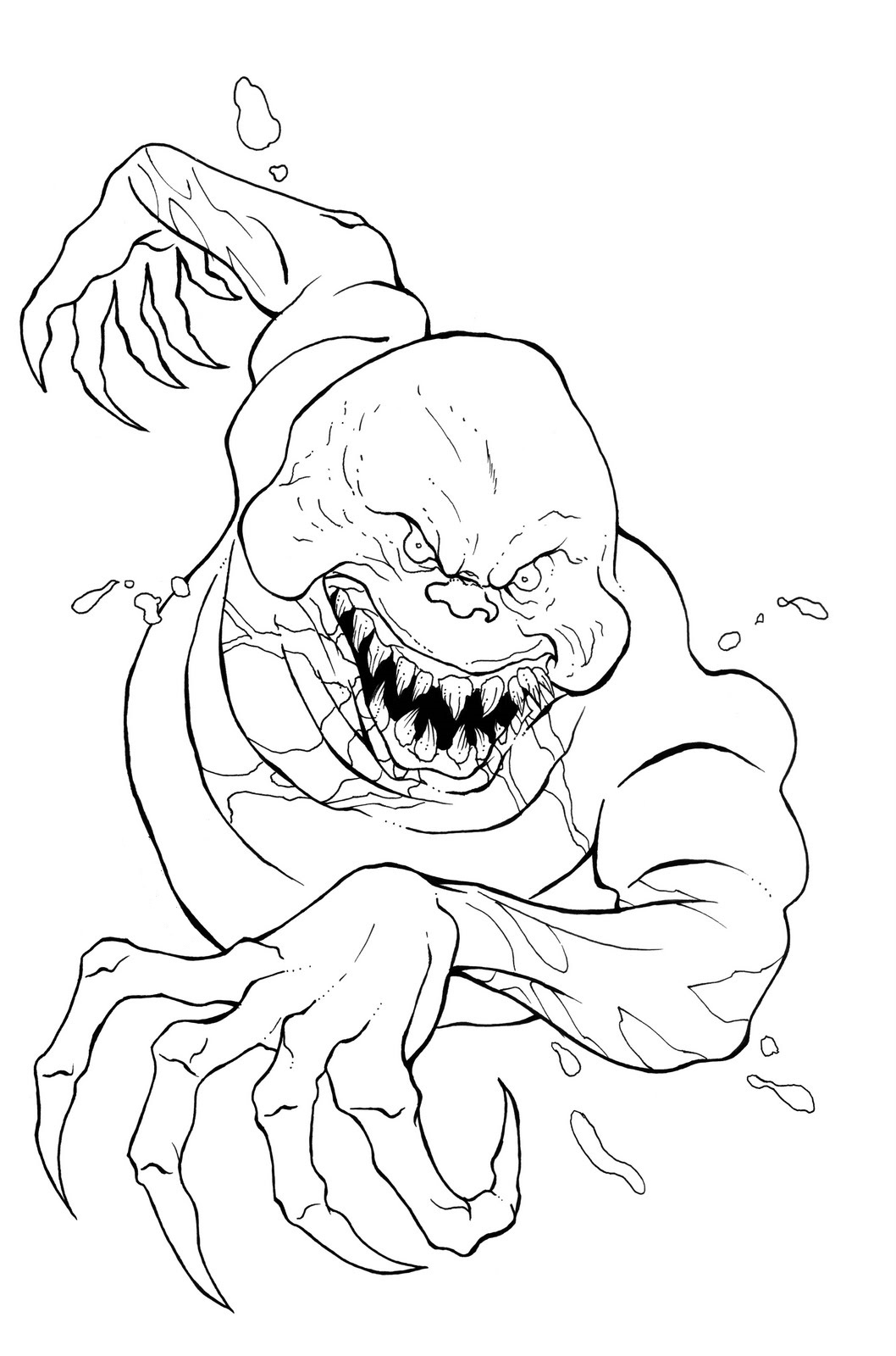 Ghostbusters Coloring Pages For Kids