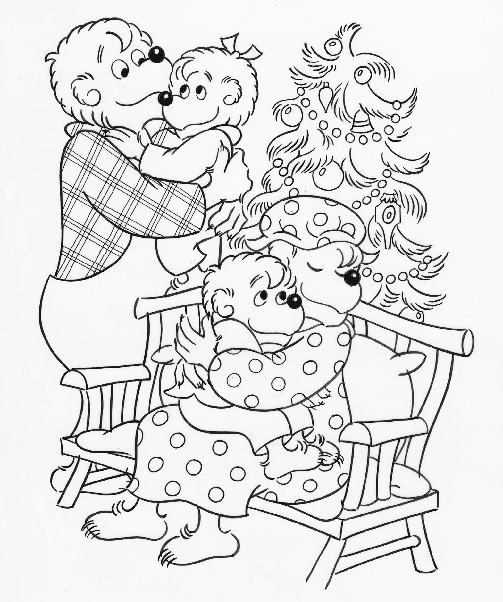 Berenstain Bears Coloring Pages 3