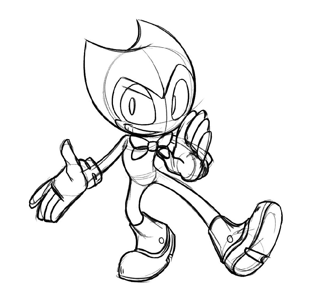 picture regarding Bendy Coloring Pages Printable identified as Bendy Coloring Sheets