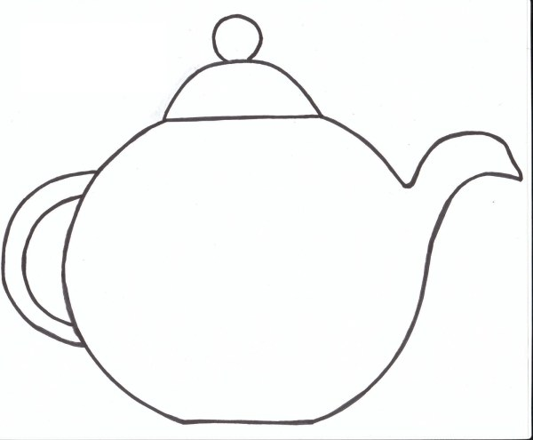 teapot coloring page # 30