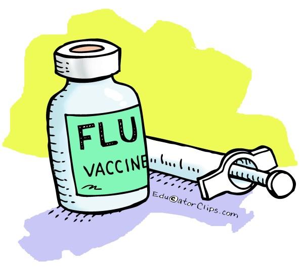 flu vaccine clip art