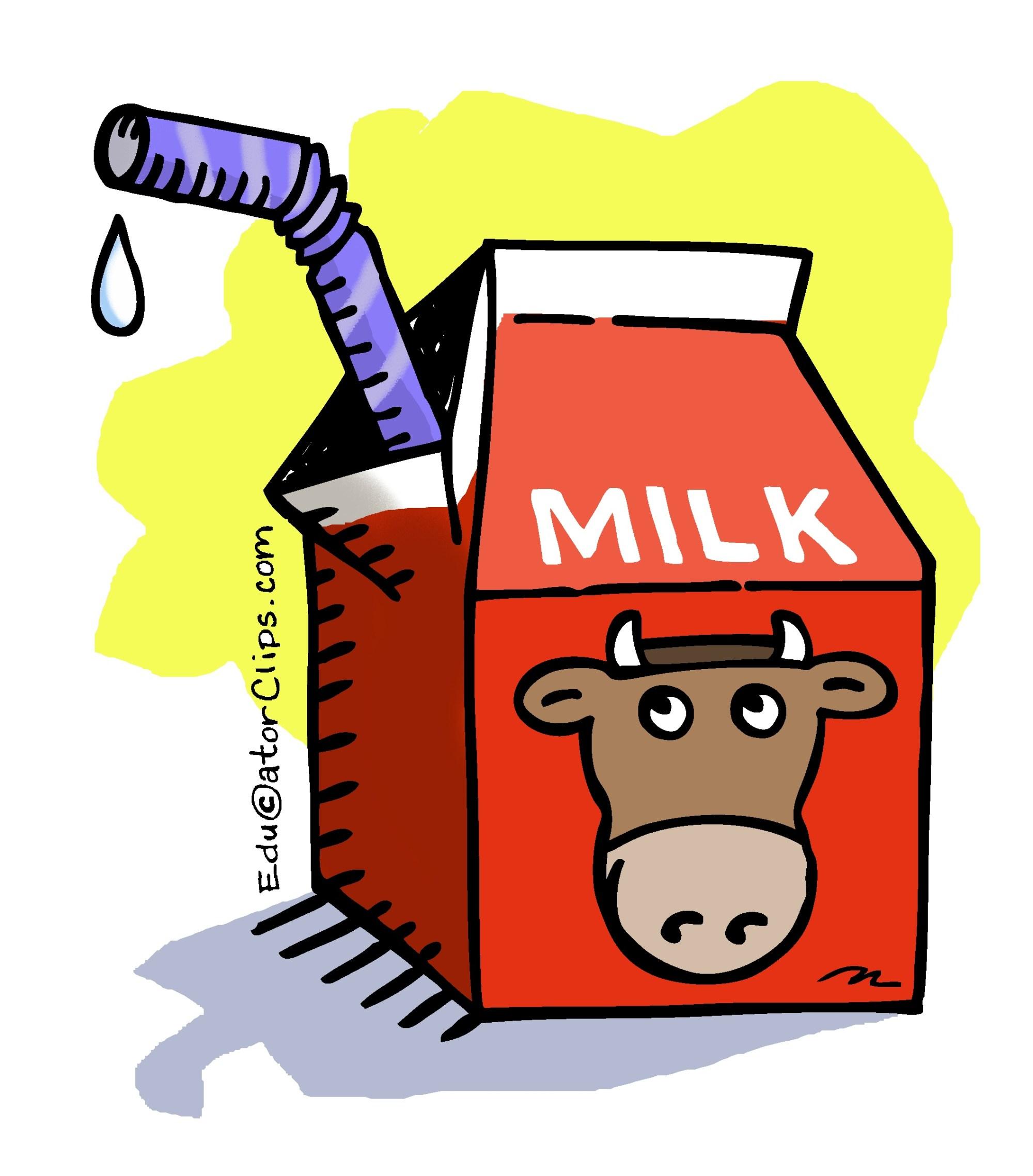 hight resolution of milk carton clipart