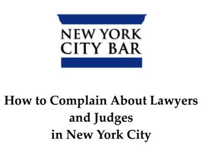 NY Bar Complaint